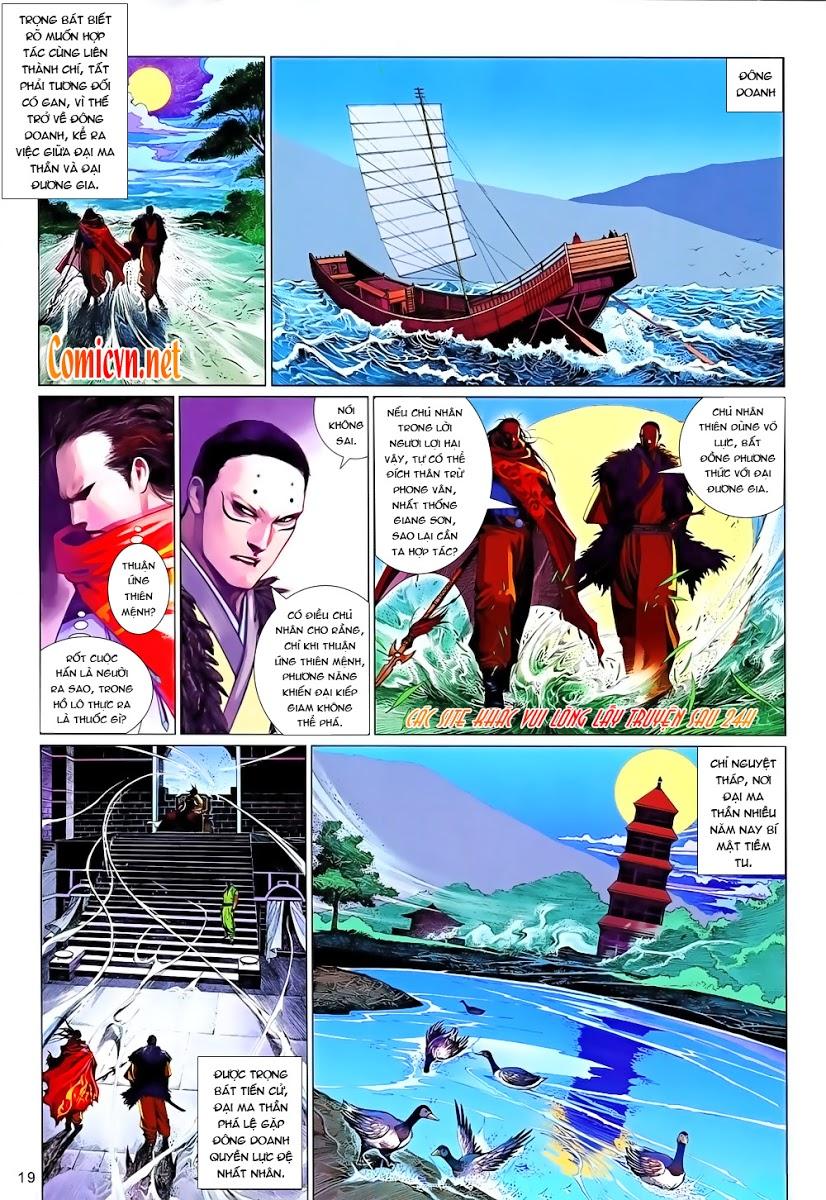 Phong Vân chap 642 Trang 19 - Mangak.info