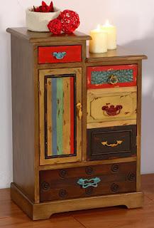 mueble escalera, cajonera escalera, mueble escalera colores