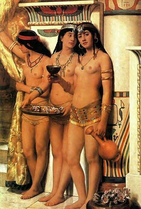 collier pharaohs handmaidens