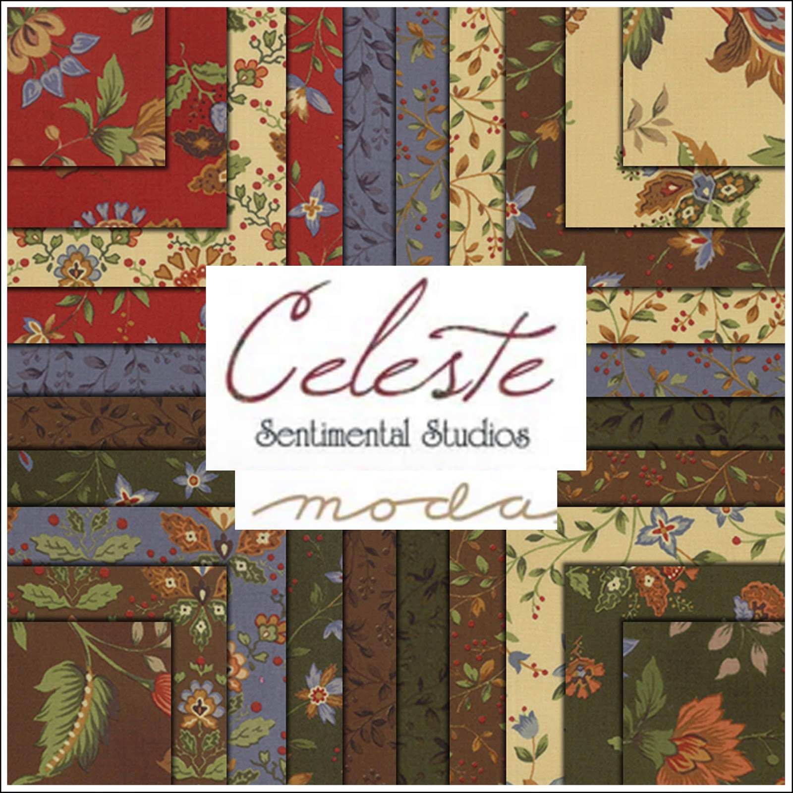 Moda CELESTE Quilt Fabric by Sentimental Studios for Moda Fabrics