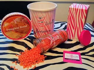 Pink Zebra Pumpkin Bread Sprinkles image