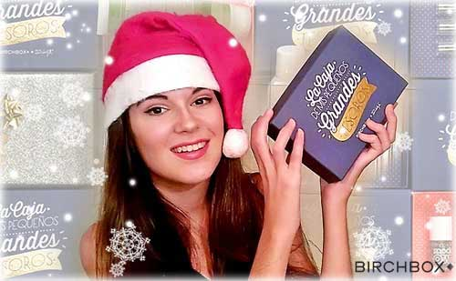 Birchbox Navidad 2014 monika sanchez guapa al instante