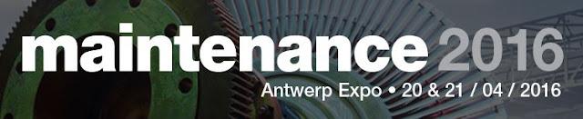 Feria MAINTENANCE 2016 Antwerp Bélgica