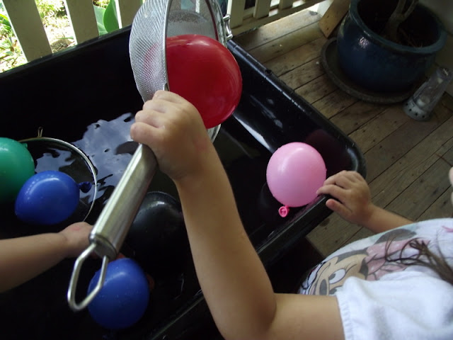 fine motor balloon activity