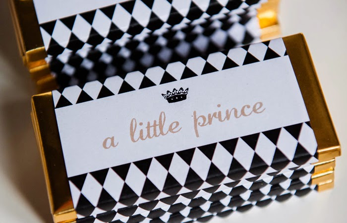 sweet little nursery white gold and black little prince baby shower