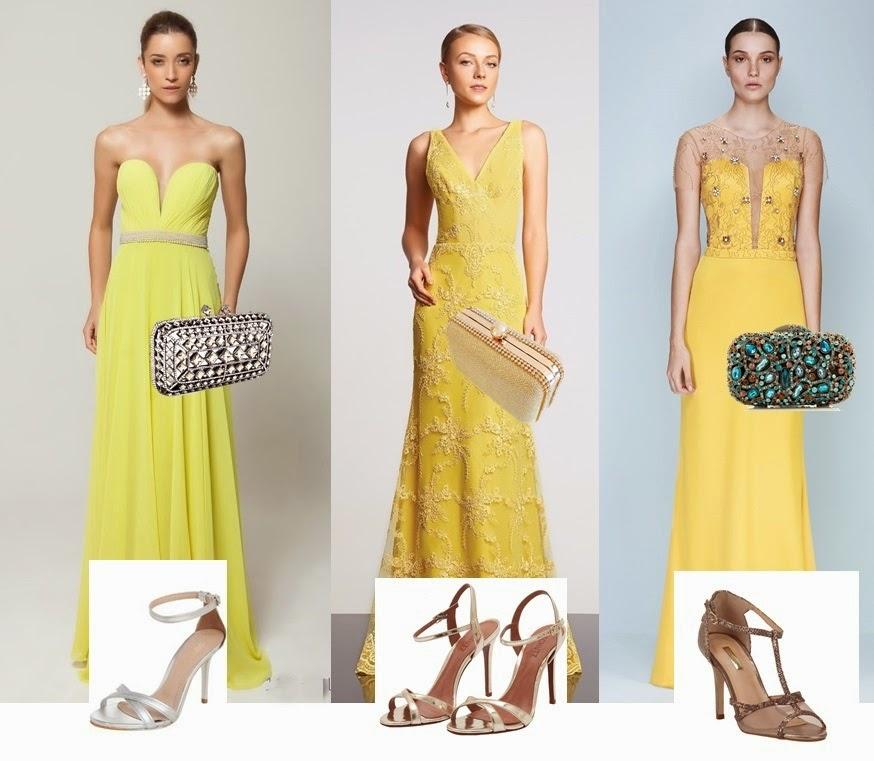 Bolsa Dourada Pode Usar De Dia : Bolsa sand?lia e maquiagem para usar com vestido de festa
