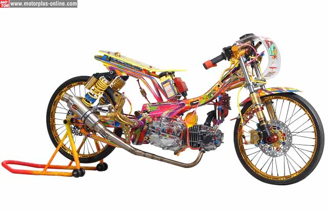Absolute Revo 2008 Juara Nasional Kontes Modifikasi Honda 2014