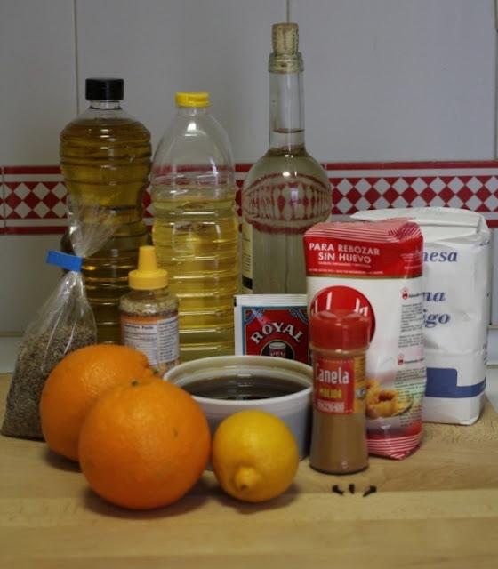 receta de pestiños