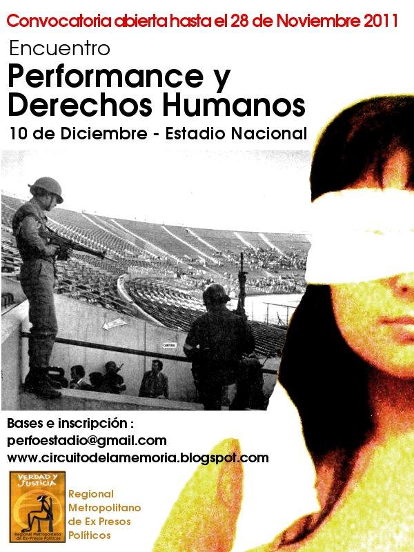 1er Encuentro de Performance y Derechos Humanos