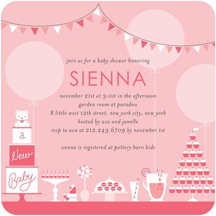 Baby Shower Templates Free Real Party Tea Party Sip See