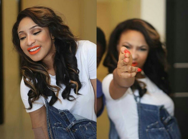Tonto Dikeh on being signed by Dbanj