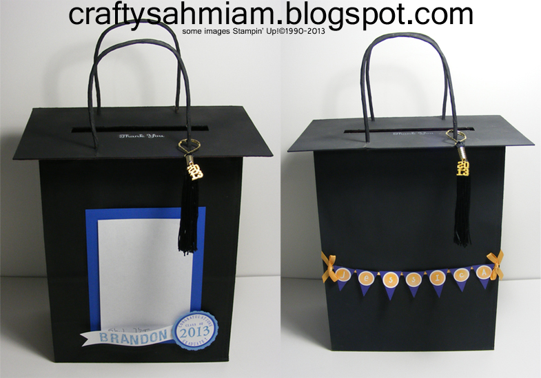 Crafty sahm i am graduation cap gift bags