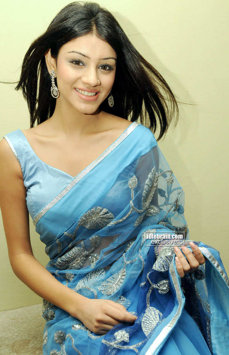 Anchal In Saree