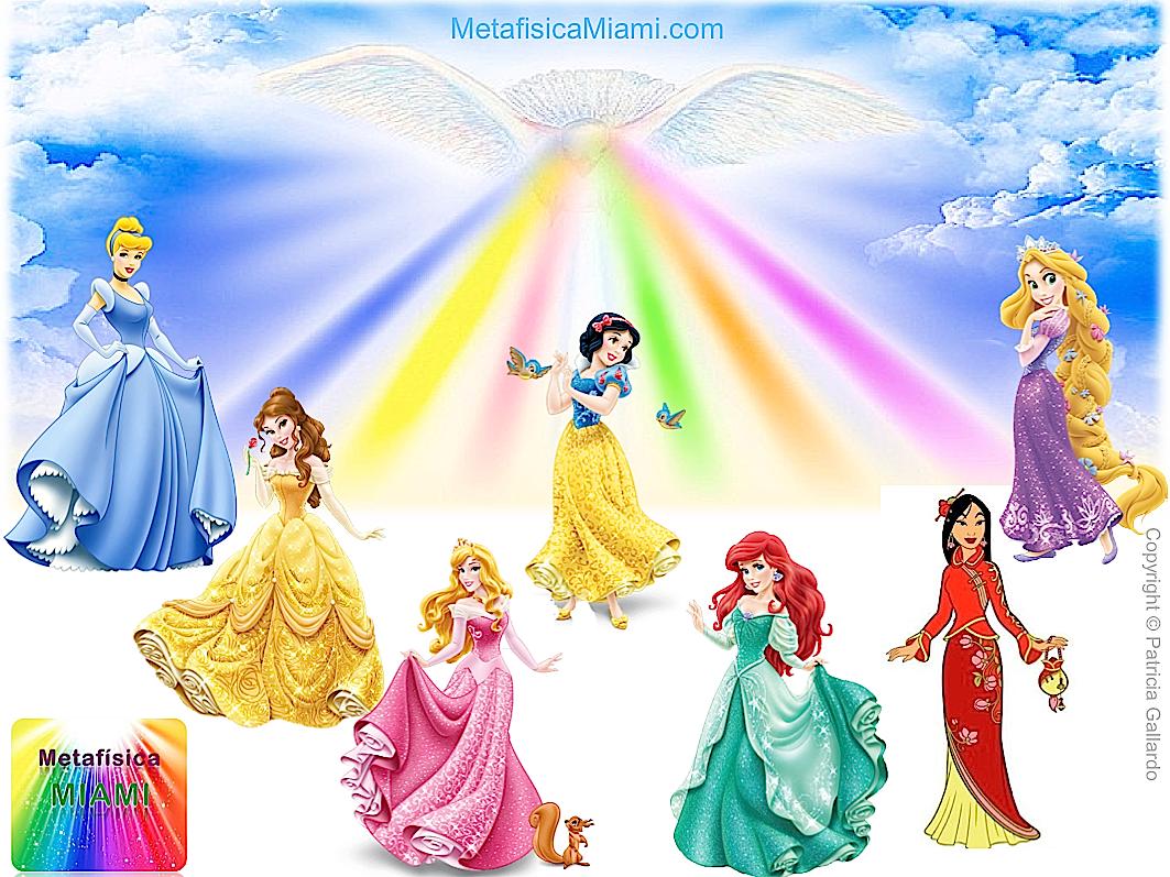 7 Rayos de Luz: Princesas de Disney y 7 aspectos de Dios