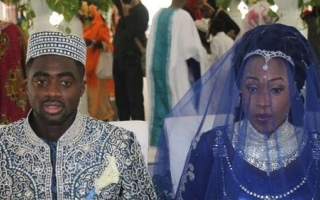 Manchester City and Ivorian defender Kolo Toure weds