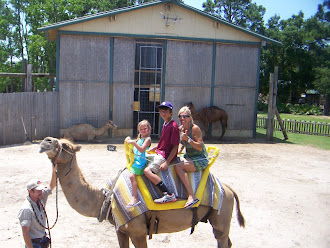 Our camel ride.