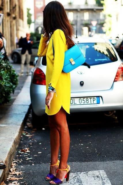 sapatos coloridos verao