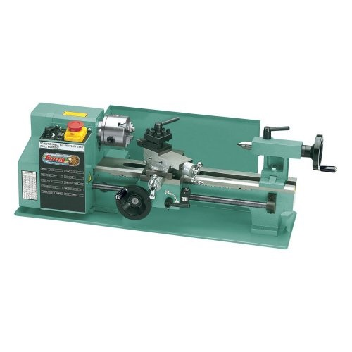 "INVISIBLE SQUARES: Grizzly G8688 7"" x 12"" Mini Metal Lathe ..."