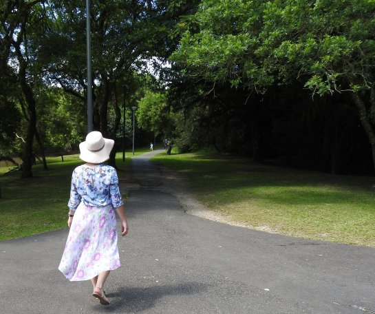 Look no Parque Barigui - com Mix de estampas