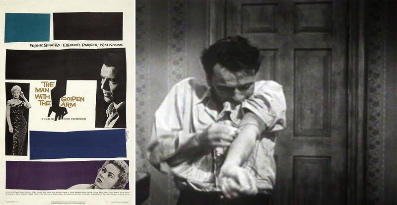 historia del cine a través de los carteles_El hombre del brazo de oro