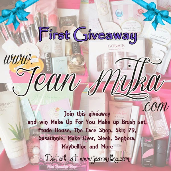 Jean Milka first giveaway