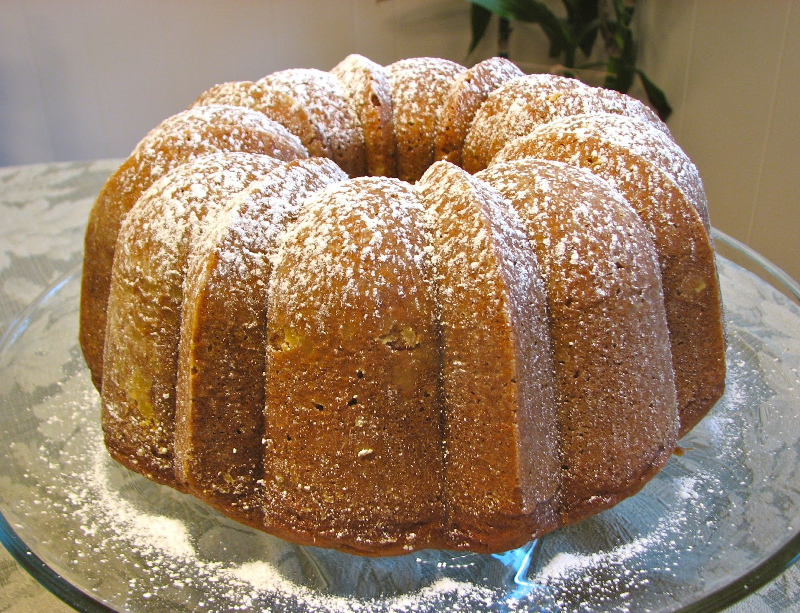Delectably Mine: Pumpkin Bundt Cake