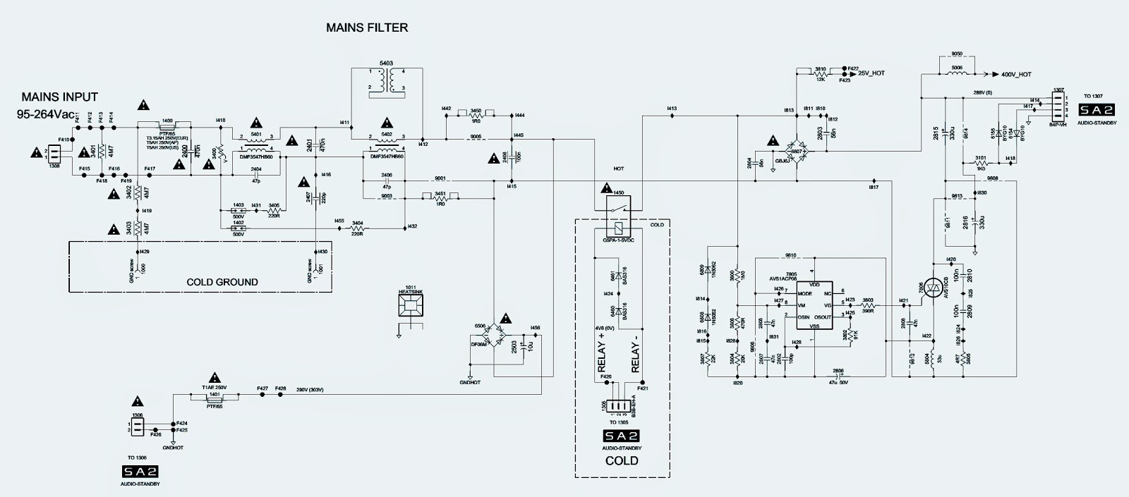 32 inch philips lcd tv power supply [smps] schematic electro help32 inch philips lcd tv power supply [smps] schematic
