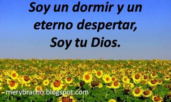 Soy el que doy vida, salvación y propósito. Dios dice que Él es el gran Yo Soy. Dios de la vida. Yo soy el que soy. Poema cristiano.Postales cristianas del amor de Dios. Dios te da todo.