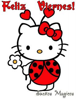 hello kitty feliz viernes