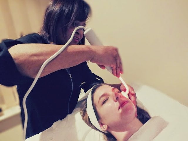 high frequency skin treatment