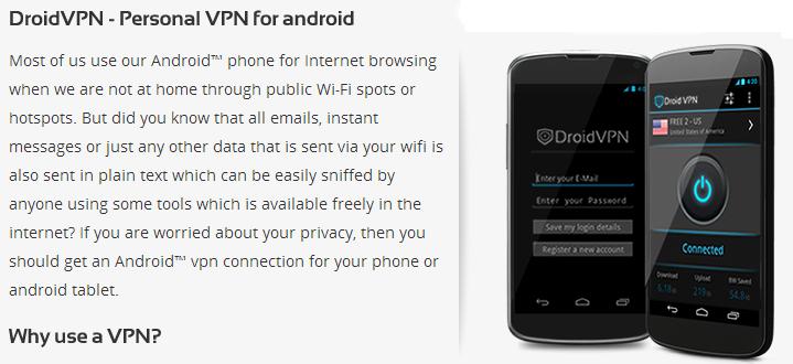 Internet Gratis 3G DroidVPN Configuraciones Junio 2014 Sin saldo Region 7 Telcel
