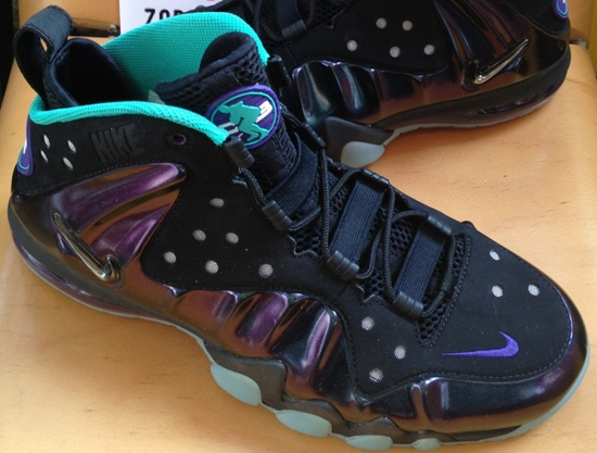 Nike Barkley Posite Max Bronze Black