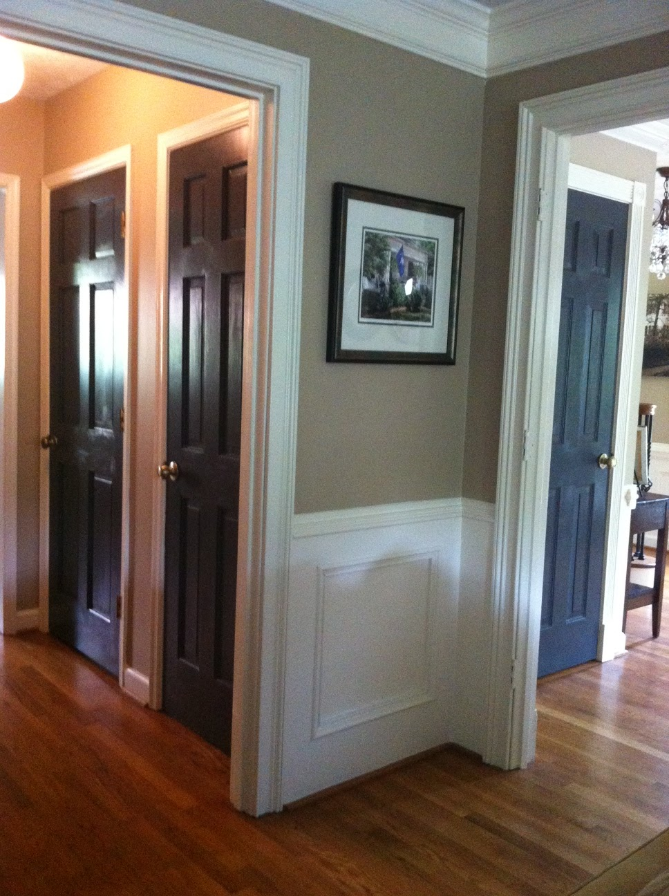The Houston House Black Doors And Styling Bookcases