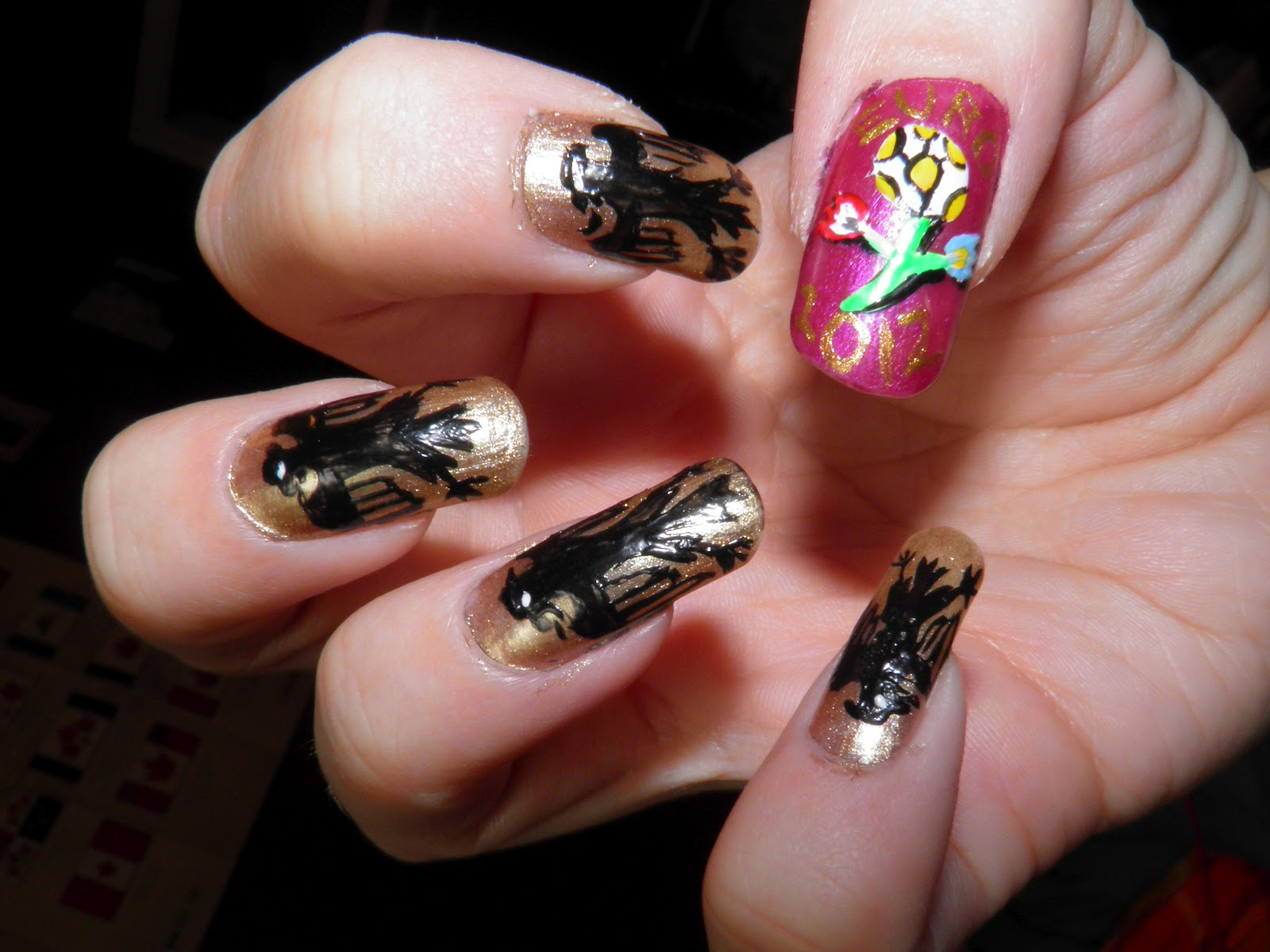 Streams of Whiskey and Nail Polish: UEFA Euro 2012 - Group Stages