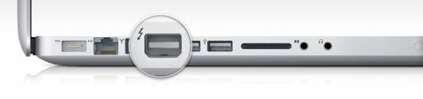 I/O ThunderBolt no MacBook Pro