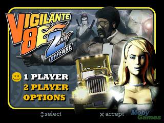 Game Vigilante 8 2nd Offence - Game Begog