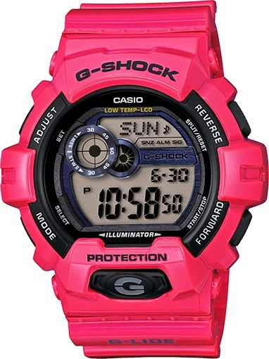 Casio G-Shock GLS8900-4 G-LIDE Red Big Case