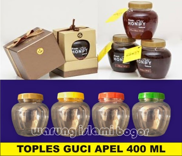 Toples Madu Guci Apel 400 ml