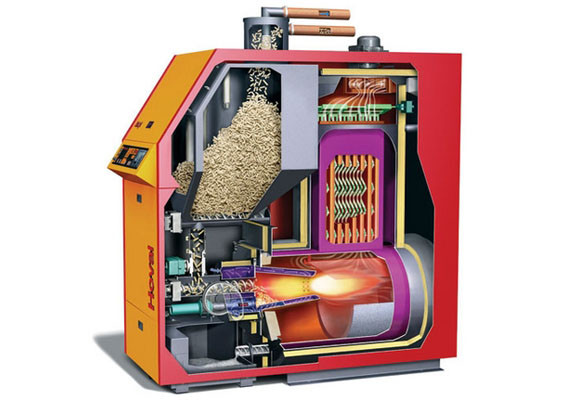 ahorro de electricidad aire acondicionado y biomasa