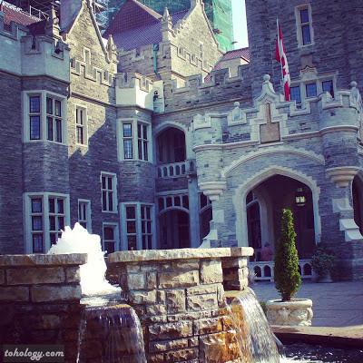 Casaloma castle in Toronto
