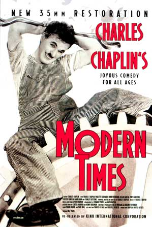 film analysis done charlie chaplin s film modern times An analysis of some factors that currently there is a major touring retrospective across several north american cities of restored 35mm prints of charlie chaplin's major feature my own personal favourite of chaplin's feature films is modern times, the film which.