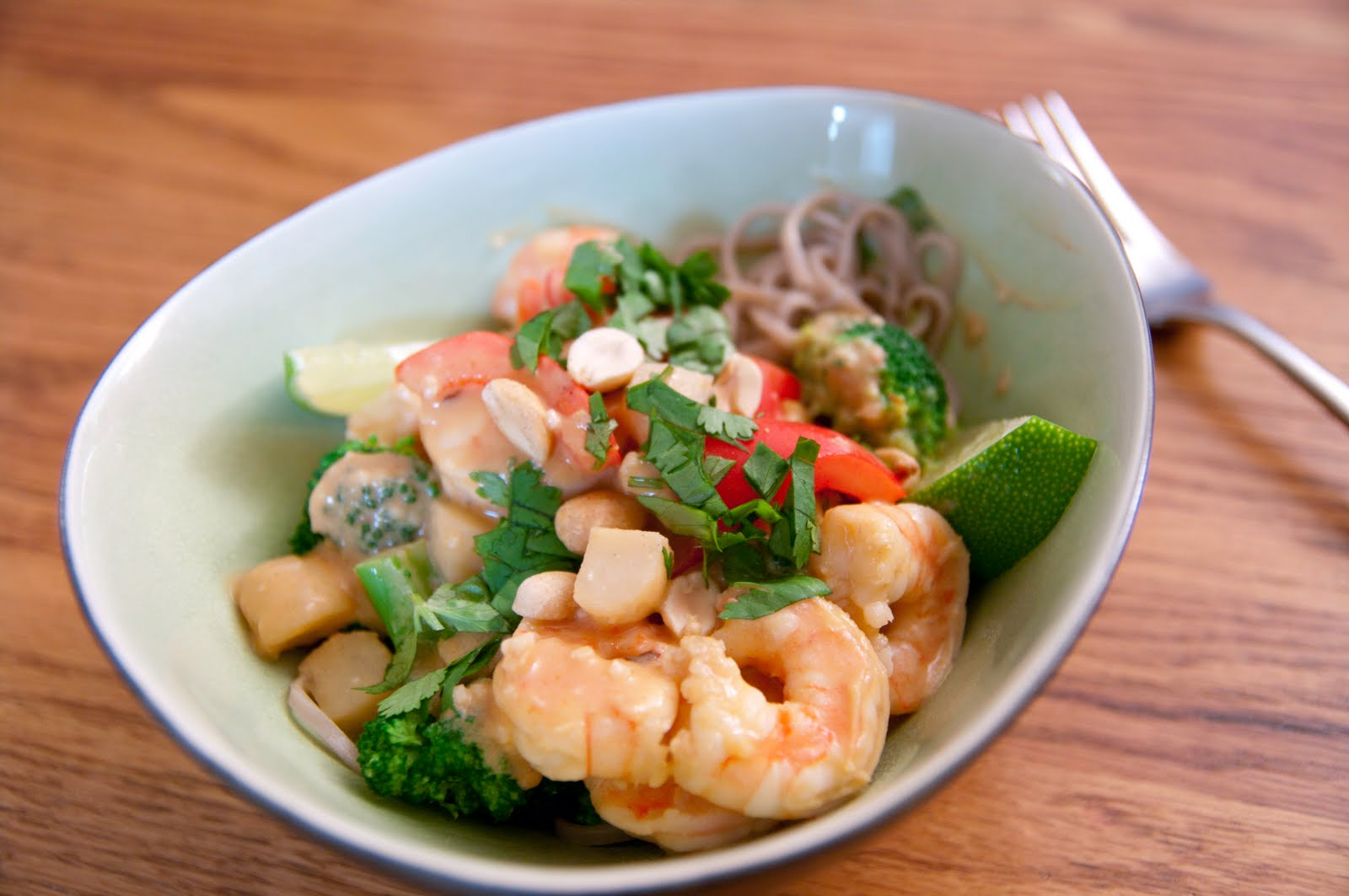 Blog About Food: Thai Coconut Shrimp