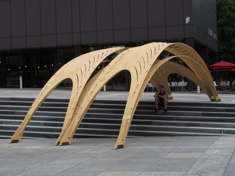 Eat A Bug Experimental Wood Structures At Eth