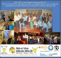ESTUVIMOS EN IV ENCUENTRO DE ORGANIZACIONES COMUNITARIAS DE SALUD
