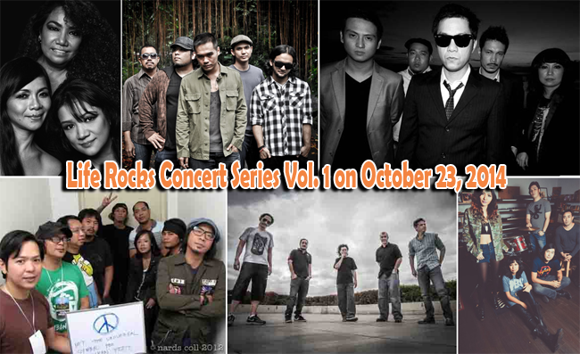 AVA Prime Media and Events Invites You to Life Rocks Concert Series Vol. 1 on October 23, 2014