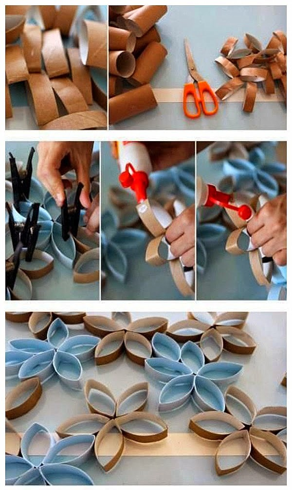 Em rita desastre ideas decora tus paredes con rollos de for Rollo de papel para pared