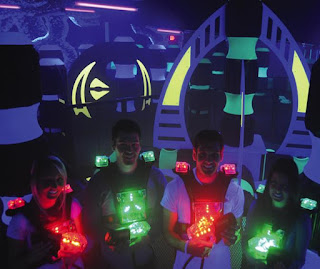 laser tag zone collector