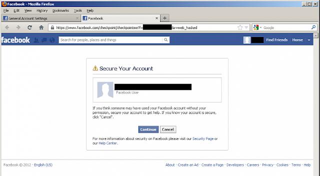 Url Hacking Facebook Account