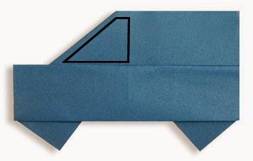 Hướng dẫn cách gấp xe ô tô, xe hơi 7 chỗ bằng giấy đơn giản - Xếp hình Origami với Video clip