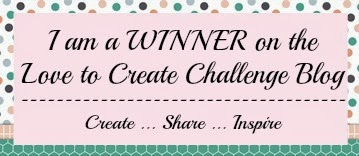 Love to Create Challenge #95 Winner